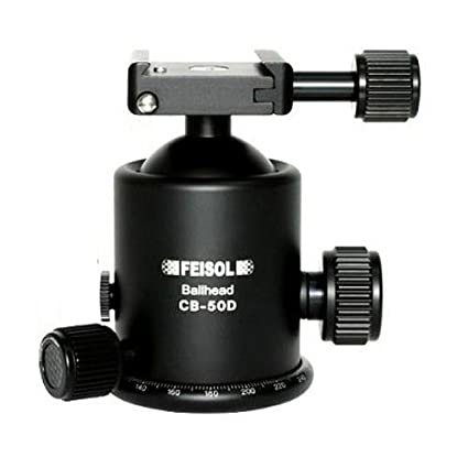 Feisol CB-50D Ball Head (with QP-144750 Relea..