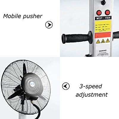 Ventilador de Gran Potencia Potente Ventilador oscilante Que ...