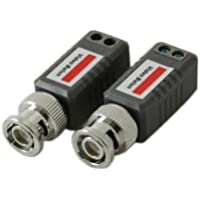 4 PAIRS (8 Pcs.) Mini CCTV BNC Video Balun`, Passive