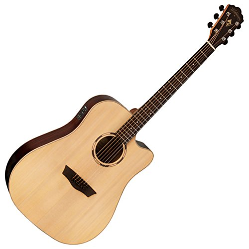 Washburn Woodline Series WLD20SCE Acoutic-Electric Guitar Level 2 Natural 888365782102