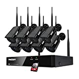 TMEZON 8CH Security Camera System Wirele...