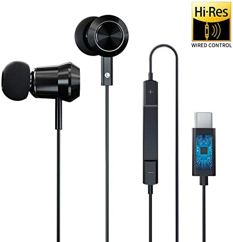 ACCGUYS USB Type C Earphones,in Ear Headphones Stereo Bass Noise Cancelling Sport Wired Earphone Compatible with Google Pixel 3 XL,Huawei P20 Pro Mate 20 Pro 10 Pro,HTC U11 Sony Razer Phone