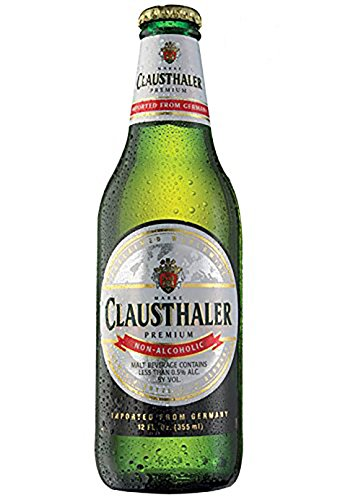 Non Alcoholic Beer Made (Clausthaler Premium Non-Alcoholic Beer, 12-oz (350 ml), Glass Bottles (12 Pack))