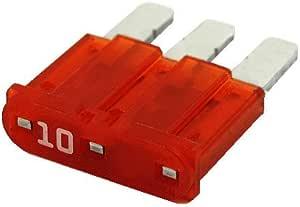 Littelfuse 10 Amp Mini Blade Fuse 5 Pcs.