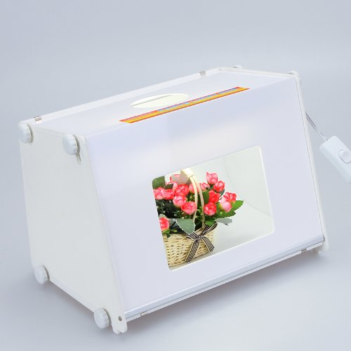 SANOTO Portable Mini Kit Photo Photography Studio tent Light Box Softbox MK30 110V(12''x8'') by Andoer