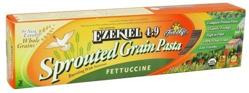 Food For Life Ezekiel 4:9 Organic Sprouted Grain Pasta, Fettuccine, 16-Ounce Boxes (Pack of 6) ( Value Bulk Multi-pack)