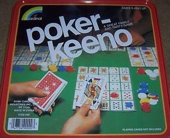 Poker-Keeno A Great Family and Party Game by Cardinal