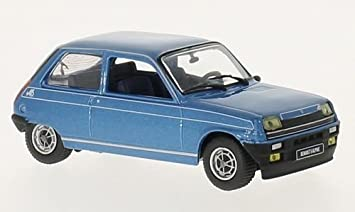 Renault 5 Alpine 1976 met.-blue 1:43 Whitebox: WhiteBox: Amazon.es: Juguetes y juegos