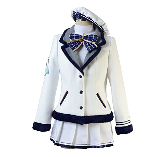 Love Live! Sunshine! Kanan Matsuura Cosplay Costumes Spring Girls's Skirt Uniform Suit by starfun (Image #7)