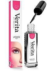 Verita Lash Fibers - Non-Synthetic Natural Looking Mascara - Enhances Thickness & Longer-Looking Lashes - for Women & Teens (Black)