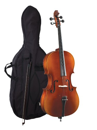 Becker 3000F Cello Outfit 4/4, Polished Gold Brown