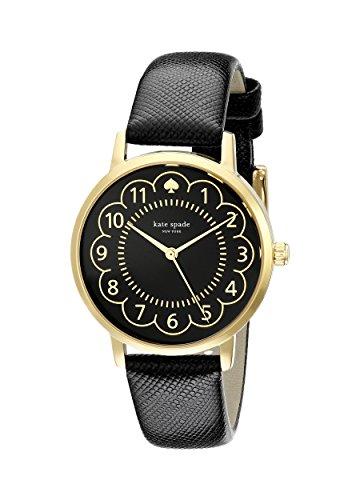kate spade new york Women's 1YRU0790 Metro Analog Display Japanese Quartz Black Watch