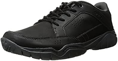 Crocs Men's Swiftwater Hike Shoe, Black/Graphite, M12