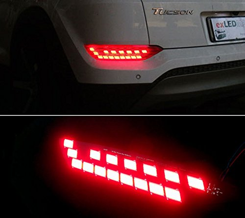 Sell by Automotiveapple, exLED Rear Surface Emission COB LED Reflector Module DIY Kit 2-pc Set For 2016 Hyundai Tucson : ALL NEW TUCSON