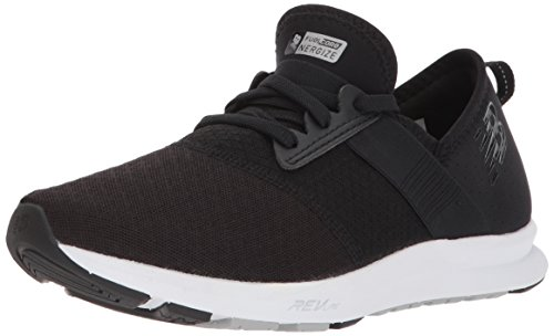 (New Balance Women's FuelCore Nergize v1 FuelCore Training Shoe, Black and Grey, 10 D US)
