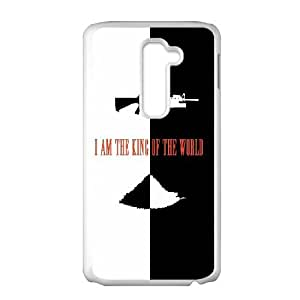Scarface Im The King Of The World LG G2 Cell Phone Case White DIY present pjz003_6343502