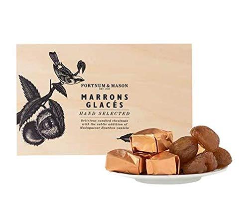 Fortnum & Mason Marrons Glacé, 400g Wooden Box