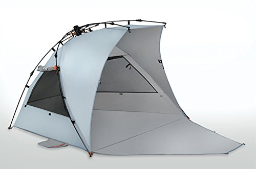 Terra Nation Reka Kohu Plus Extended Floor Beach Tent - 3 Person - 98% UV Protection (UPF 50+) (Blue)