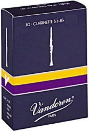 Box of 10 Vandoren Traditional Clarinet Reeds