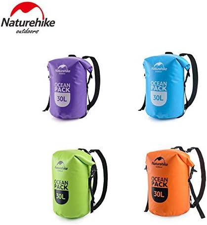Naturehike Ocean Pack 20L 30L Mochila Impermeable portátil para Camping Canyoneering Natación Viaje FS16M030-L: Amazon.es: Deportes y aire libre