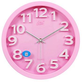 zhENfu Quartz Clock/Wall Clock/Mute Quartz Clock Garden Decorated Living Room Stereo Braille Stylish Watches, Wall Clock