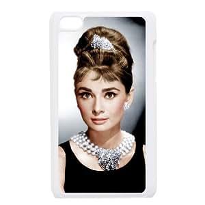 iPod Touch 4 Phone Cases White Audrey Hepburn BGU286699