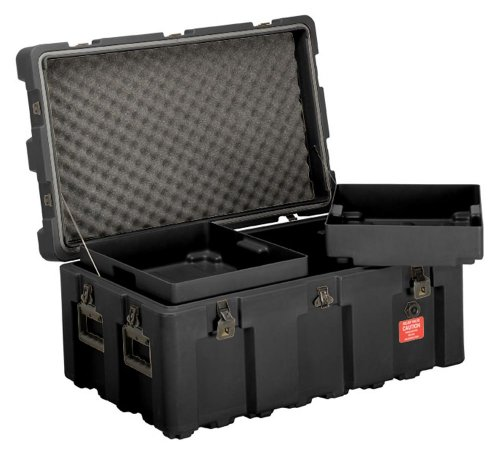 loadmaster-footlocker-storage-trunk-with-wheels-removable-trays-lockable-hinged-lid-from-ecs-case-bl