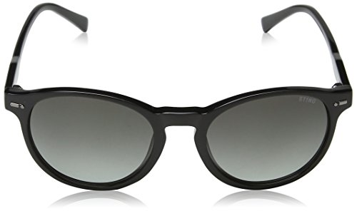 STING, Lunettes de Soleil Mixte Grey (Shiny Black)