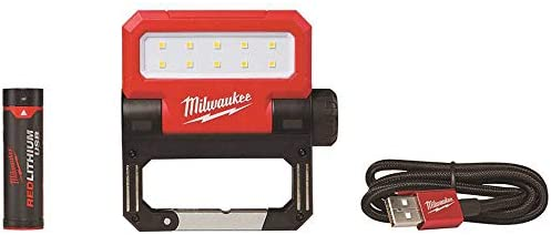 Milwaukee 2114-21 550 Lumens LED Rechargeable Pivoting Flood Light