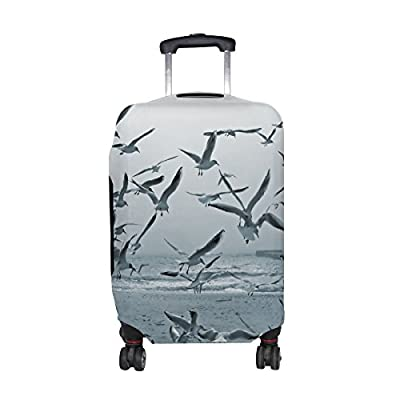 d3ab74a197a3 70%OFF DEYYA Seagulls And Doves Spandex Travel Luggage Cover Baggage ...