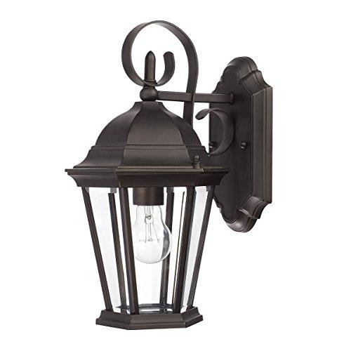 Capital Lighting 4104TS-RS Villa Collection 3-Light Pendant, Tortoise Finish with Rust Scavo Glass ()