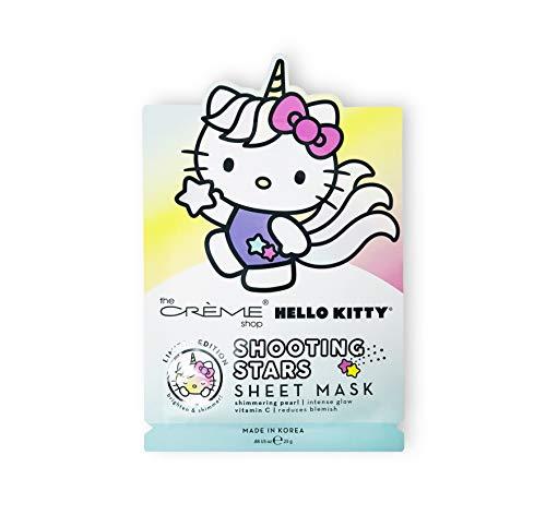 The Crème Shop x Sanrio Sheet Mask (Hello Kitty Unicorn Shooting Stars) (Hello Macaron Kitty)