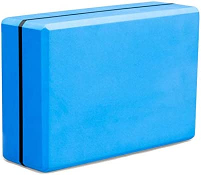 TESITE Yoga Brick Ladrillo De Espuma De Alta Densidad Equilibrio Apoyo Entrenador Dance Foam Brick Head (Azul)
