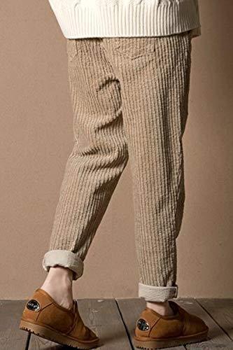 yulinge Donne Pantaloni Viintage Lino Del Pantaloni Le Lunghi Taglia E Cotone Albicocca rOnArW1
