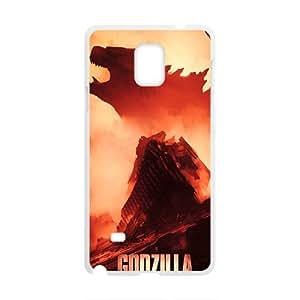 DAZHAHUI Godzilla Fashion Comstom Plastic case cover For Samsung Galaxy Note4