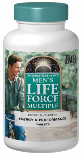Hommes Source Naturals multiple de Force de Vie, 180 Tablets
