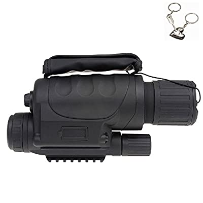Blueskysea 4x40 PROFESSIONAL DIGITAL NIGHT VISION DEVICE (MONOCULAR SCOPE) & FULL COLOUR CAMERA- Gen