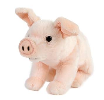 Cerdo, cerdito, lechón, cerdo de la suerte, 22 cm, peluche,