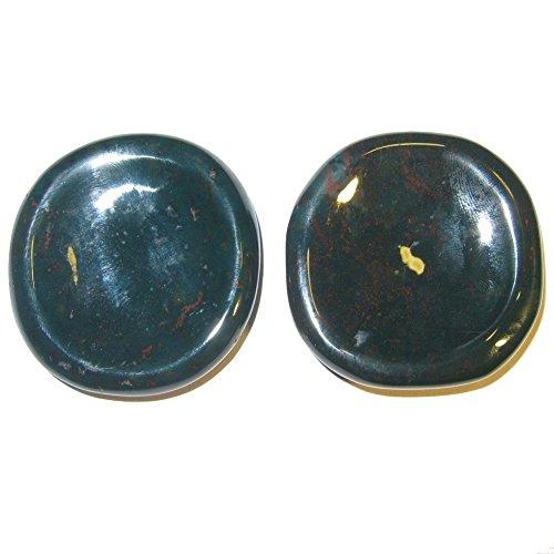 Satin Crystals Bloodstone Polished Stone 1.7