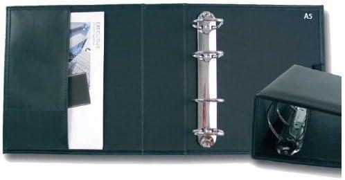 Carpe Diem A5 Ringbuch 4-Ring 45mm-D-Mechanik Mareno schwarz