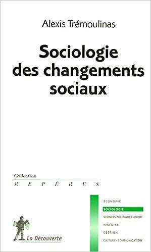 Livre Sociologie des changements sociaux pdf ebook