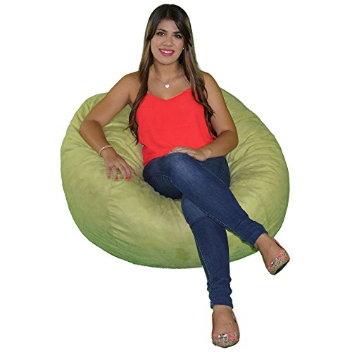 Cozy Sack, SM-CBB-LIME, Small Cozy Foam Bean Bag Chair, LIME