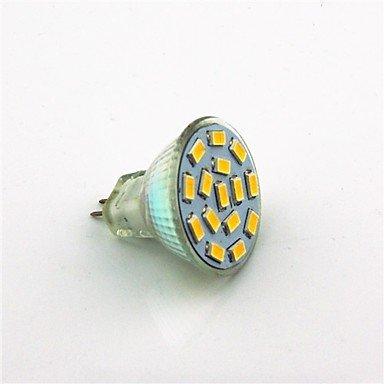 3W LED Spotlight MR11 15 SMD 5730 280 lm Warm White Cool White DC 12-24 V 1 pc MR11 , 180¡ã