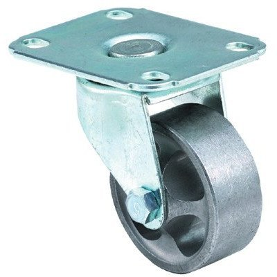 Light-Medium Duty Casters - 3x1-5/32 light-med duty97 plate swivel caster by ER Wagner