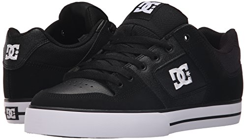 DC Skateboard Shoes PURE BLACK/BLACK/WHITE