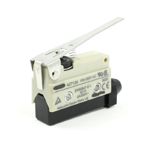 Enclosed Basic Switch (Uxcell a13051100ux0231 Long Hinge Lever Screw Terminal Enclosed Basic Limit Switch,)