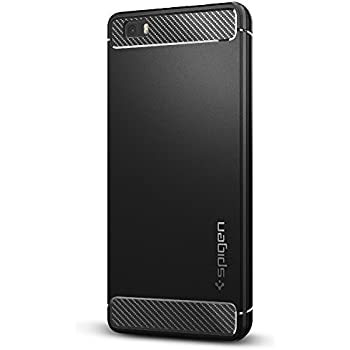 huawei p8 lite white. spigen rugged armor huawei p8 lite case with resilient shock absorption and carbon fiber design for white