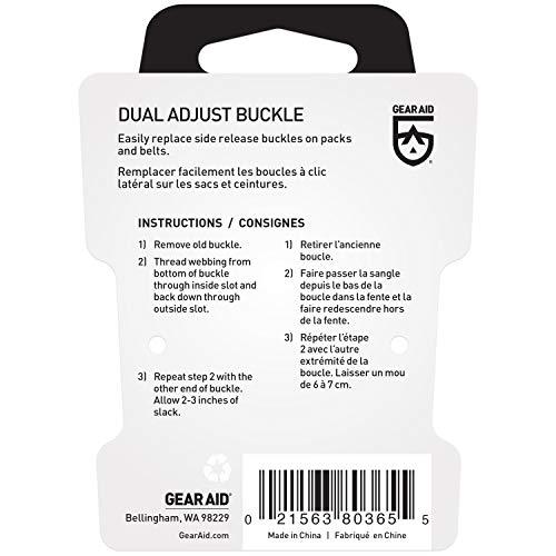 """Gear Aid Dual Adjust Buckle Kit, 1"""""""