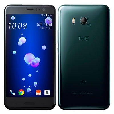 HTC au HTC U11 HTV33 ブリリアント ブラック   B077CZQ23K
