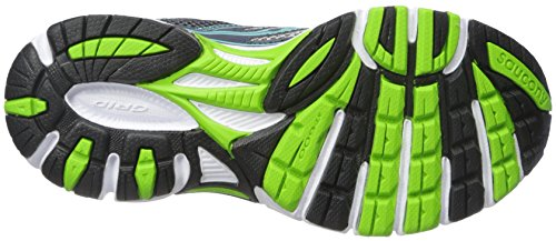 Saucony Women's Cohesion 9 Running Shoe Silver/Blue/Slime reliable cheap price 2dNClMsD4